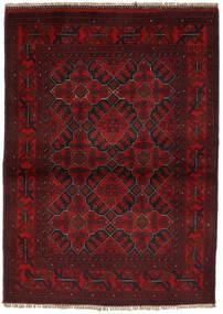 Afghan Khal Mohammadi Rug 104X144 Authentic  Oriental Handknotted Black/Dark Red (Wool, Afghanistan)