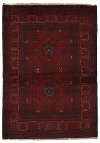 Afghan Khal Mohammadi Rug 99X143 Authentic  Oriental Handknotted Black (Wool, Afghanistan)