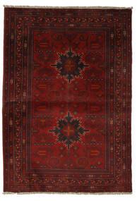 Afghan Khal Mohammadi Rug 101X147 Authentic  Oriental Handknotted Black/Beige (Wool, Afghanistan)