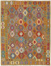 Kilim Afghan Old Style Rug 158X199 Authentic  Oriental Handwoven Dark Brown/Brown (Wool, Afghanistan)