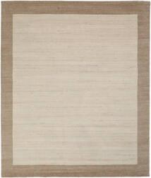 Handloom Frame - Natural/Sand Rug 250X300 Modern Light Brown/Light Grey/Dark Brown Large (Wool, India)