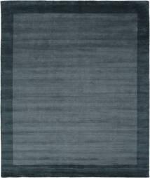 Handloom Frame - Petrol Blue Rug 250X300 Modern Black/Dark Blue Large (Wool, India)