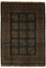 Afghan Rug 203X288 Authentic  Oriental Handknotted Black (Wool, Afghanistan)