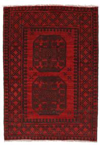 Afghan Rug 79X120 Authentic  Oriental Handknotted Black/Dark Red (Wool, Afghanistan)