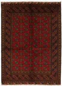 Afghan Rug 153X203 Authentic  Oriental Handknotted Black (Wool, Afghanistan)