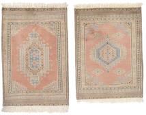 Pakistan Bokhara 2Ply Rug 62X92 Authentic  Oriental Handknotted Brown/Beige (Wool, Pakistan)