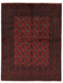 Afghan Rug 144X190 Authentic  Oriental Handknotted Black (Wool, Afghanistan)
