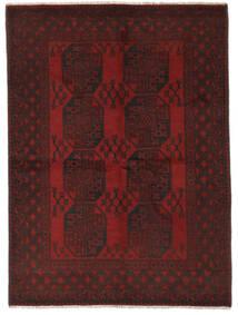 Afghan Rug 146X200 Authentic  Oriental Handknotted Black (Wool, Afghanistan)