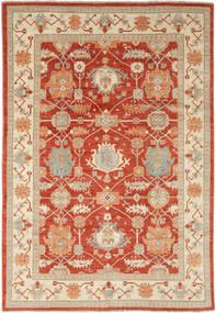 Ziegler Ariana Rug 201X293 Authentic  Oriental Handknotted Brown/Dark Red (Wool, Afghanistan)