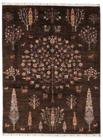 Mamluk Rug 158X205 Authentic  Modern Handknotted Black/Dark Brown (Wool, Afghanistan)