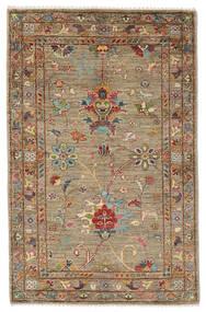 Ziegler Ariana Rug 81X128 Authentic  Oriental Handknotted Dark Brown/Beige (Wool, Afghanistan)