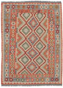 Kilim Afghan Old Style Rug 150X203 Authentic  Oriental Handwoven Dark Brown/Dark Grey (Wool, Afghanistan)