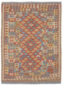 Kilim Afghan Old Style Rug 144X200 Authentic  Oriental Handwoven Dark Brown/Brown (Wool, Afghanistan)