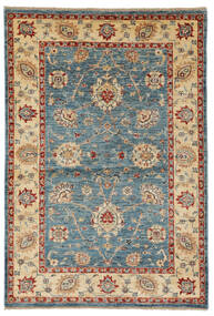 Ziegler Ariana Rug 102X150 Authentic  Oriental Handknotted Beige/Dark Brown (Wool, Afghanistan)