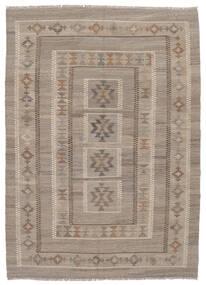 Kilim Afghan Old Style Rug 147X203 Authentic  Oriental Handwoven Dark Brown/Brown (Wool, Afghanistan)