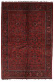 Afghan Khal Mohammadi Rug 131X192 Authentic  Oriental Handknotted Black/Dark Red (Wool, Afghanistan)