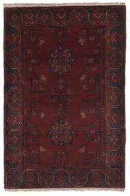 Afghan Khal Mohammadi Rug 86X127 Authentic  Oriental Handknotted Black (Wool, Afghanistan)