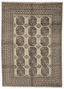 Afghan Rug 210X290 Authentic  Oriental Handknotted Dark Brown/Black (Wool, Afghanistan)