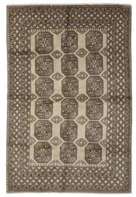 Afghan Rug 203X301 Authentic  Oriental Handknotted Dark Brown/Black (Wool, Afghanistan)