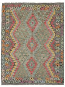 Kilim Afghan Old Style Rug 153X199 Authentic  Oriental Handwoven Dark Green (Wool, Afghanistan)