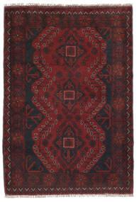 Afghan Khal Mohammadi Rug 81X120 Authentic Oriental Handknotted Black (Wool, Afghanistan)