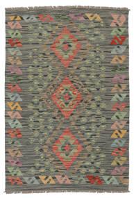 Kilim Afghan Old Style Rug 85X125 Authentic  Oriental Handwoven Dark Green/Dark Brown (Wool, Afghanistan)