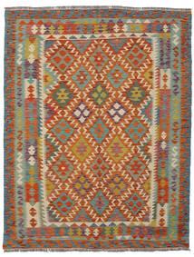 Kilim Afghan Old Style Rug 150X190 Authentic  Oriental Handwoven Dark Red/Dark Grey (Wool, Afghanistan)