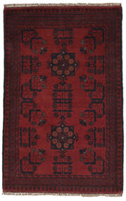 Afghan Khal Mohammadi Rug 77X121 Authentic  Oriental Handknotted Black (Wool, Afghanistan)