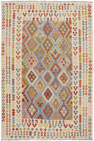 Kilim Afghan Old Style Rug 198X293 Authentic  Oriental Handwoven (Wool, Afghanistan)
