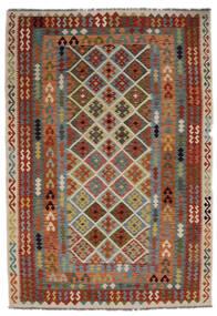 Kilim Afghan Old Style Rug 205X297 Authentic  Oriental Handwoven (Wool, Afghanistan)