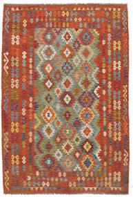 Kilim Afghan Old Style Rug 198X292 Authentic  Oriental Handwoven (Wool, Afghanistan)