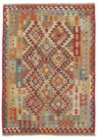 Kilim Afghan Old Style Rug 125X175 Authentic  Oriental Handwoven (Wool, Afghanistan)