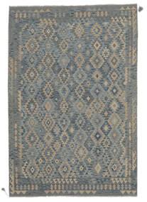 Kilim Afghan Old Style Rug 201X296 Authentic  Oriental Handwoven (Wool, Afghanistan)