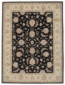 Ziegler Rug 274X361 Authentic  Oriental Handknotted Black/Brown Large (Wool, Afghanistan)