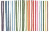 Rainbow Stripe - White