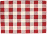Check Kilim - Red / White
