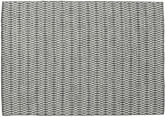 Kilim Long Stitch - Black / Grey