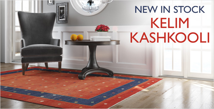 New in stock: Kelim Kashkooli